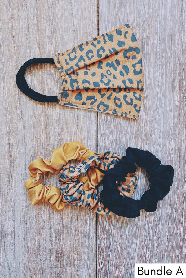 IN STOCK: Cheetah Fabric Mask