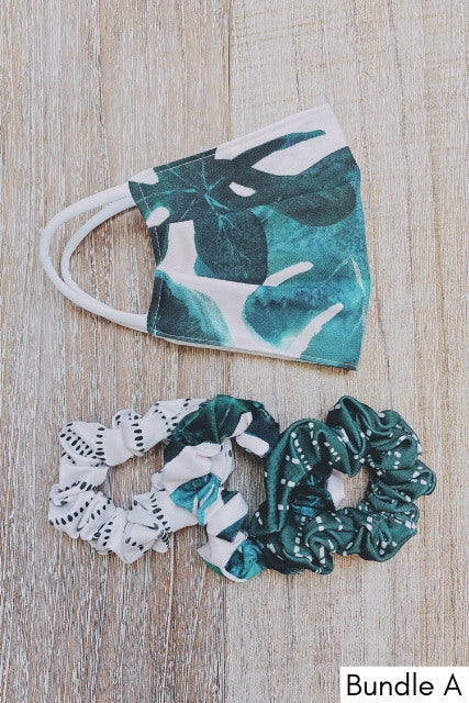 Mask and Scrunchie Bundle