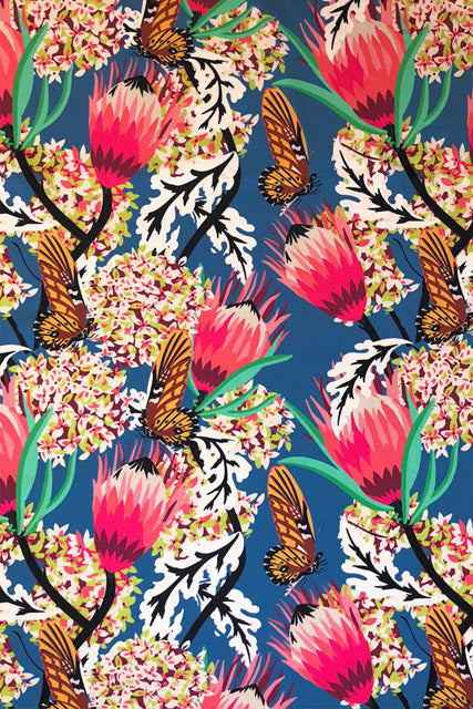 Make Your Own: Mademoiselle Chateau Butterfly Designer Fabric
