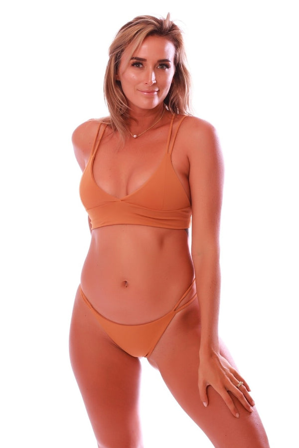 Build Your Own: Burnt Orange Swimsuit