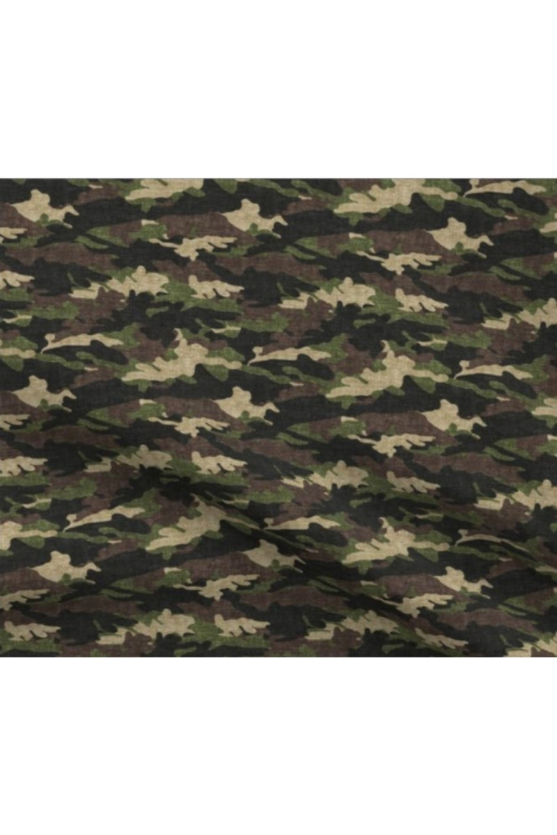 IN STOCK: Camo Fabric Mask