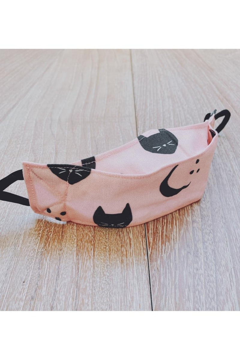 Cat Moons Pink 3D Mask