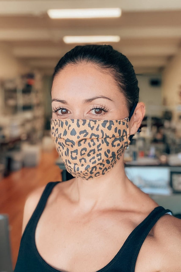Cheetah Fabric Mask