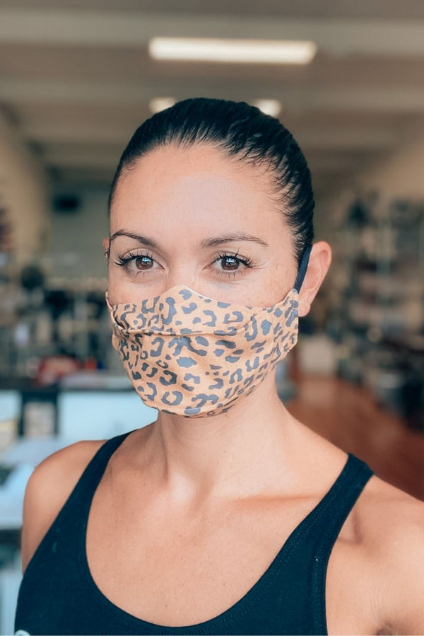 Cheetah Print 3D Mask