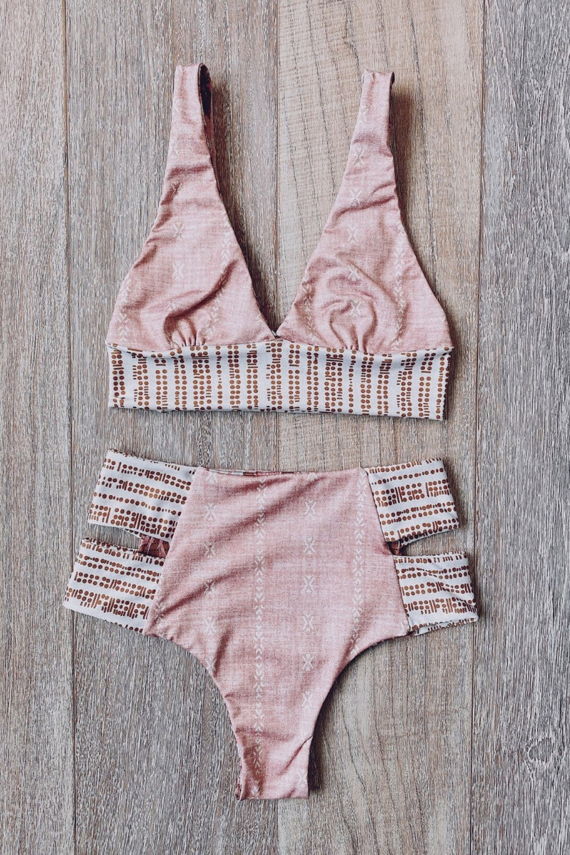 Build Your Own: Golden Eucalyptus Designer Swimsuit