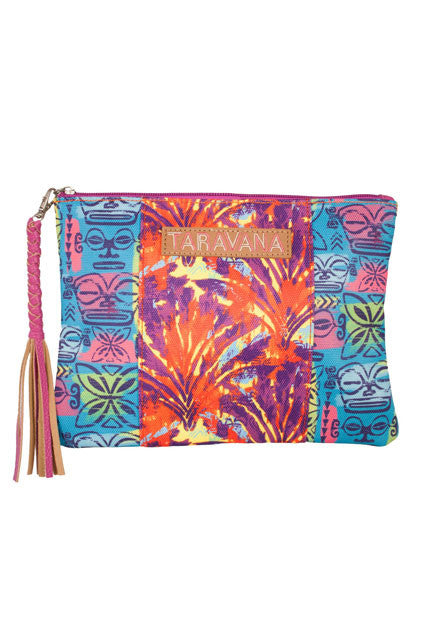 CLEARANCE: Taravana Blazing Yellow Heirava Clutch