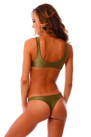 Teeny Green Envy Kahili Bottoms