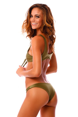 Cheeky Green Envy Kahili Bottoms
