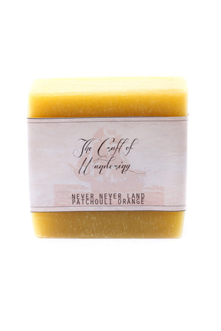 The Craft Of Wandering Never Neverland Patchouli Orange Cleansing Bar