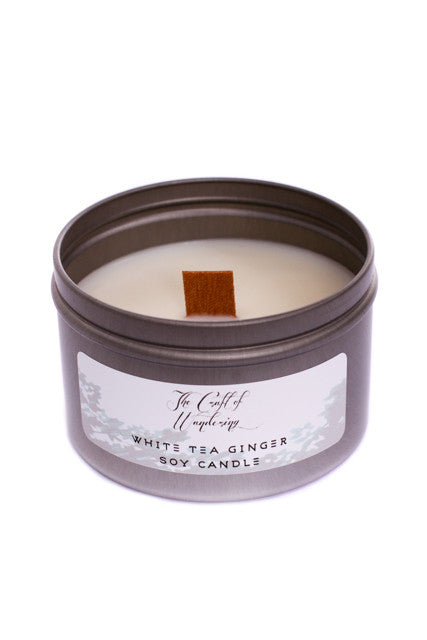 The Craft of Wandering White Tea & Ginger Candle