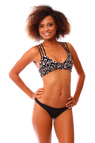 Black & White Tribal Kahuna Bottoms