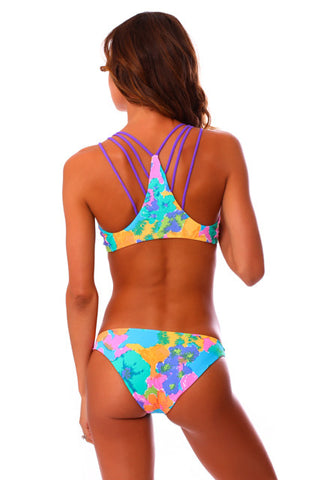 Wild Wahine Reversible String Tie Bottoms
