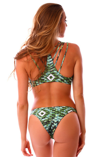 CLEARANCE: Cheeky Jungle Vixen Reversible Kahili Bottoms