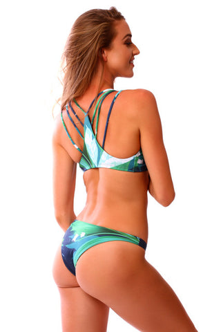 Jungle Vixen Reversible Kahili Bottoms (Cheeky)