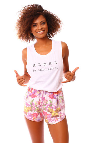 Kaimana Aloha is Colorblind Tank Top