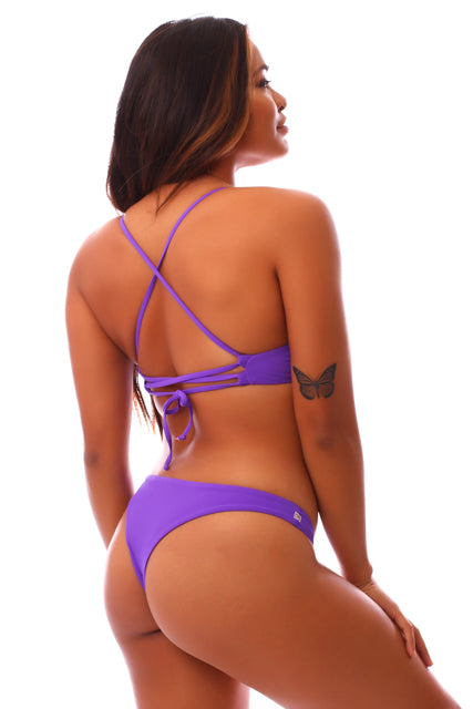 Electric Purple Leilani Top
