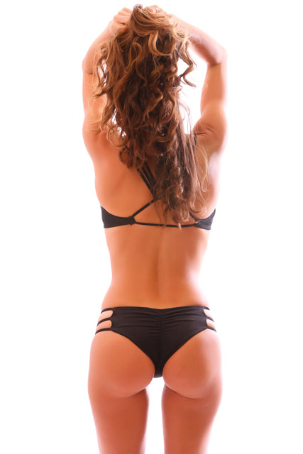 Black Cheeky Kahuna Bottoms