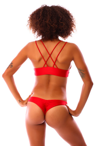 Ruby Red Mahina Top