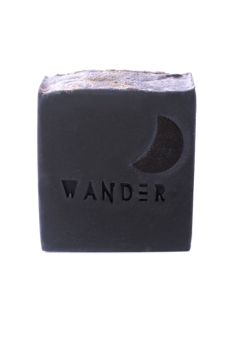 The Craft Of Wandering Black Cedar Charcoal Organic Soap