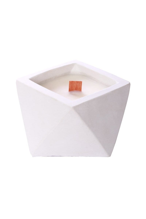 The Craft of Wandering White Tea Ginger Triangle Cement Candle