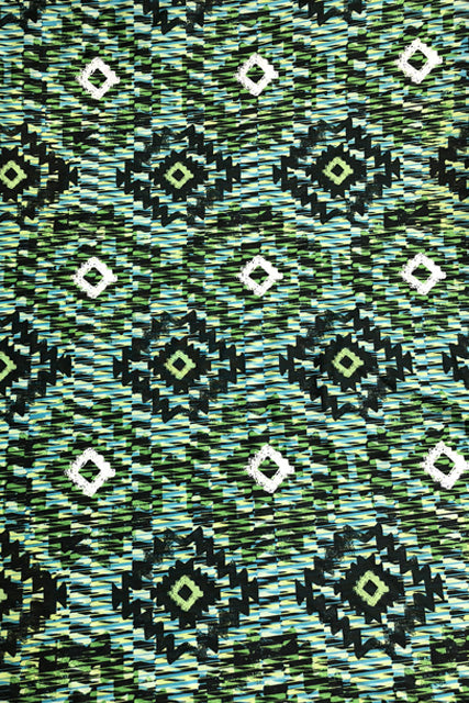 Make Your Own: Jungle Aztec Fabric