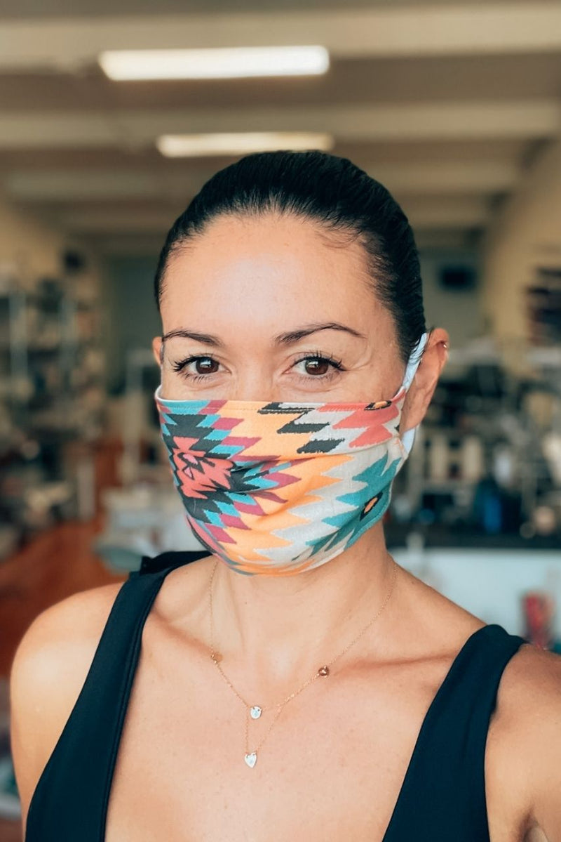 Navajo Dreams Pleated Fabric Mask
