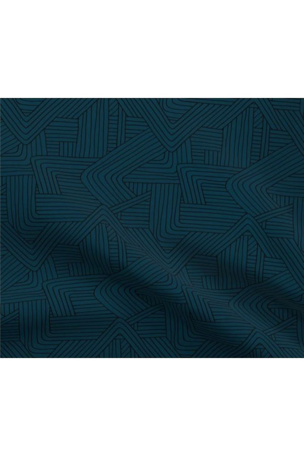 IN STOCK: Navy Maze Fabric Mask