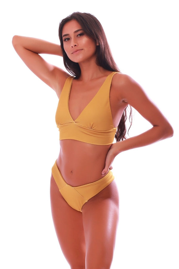 Build Your Own: Pure Gold Swimsuit