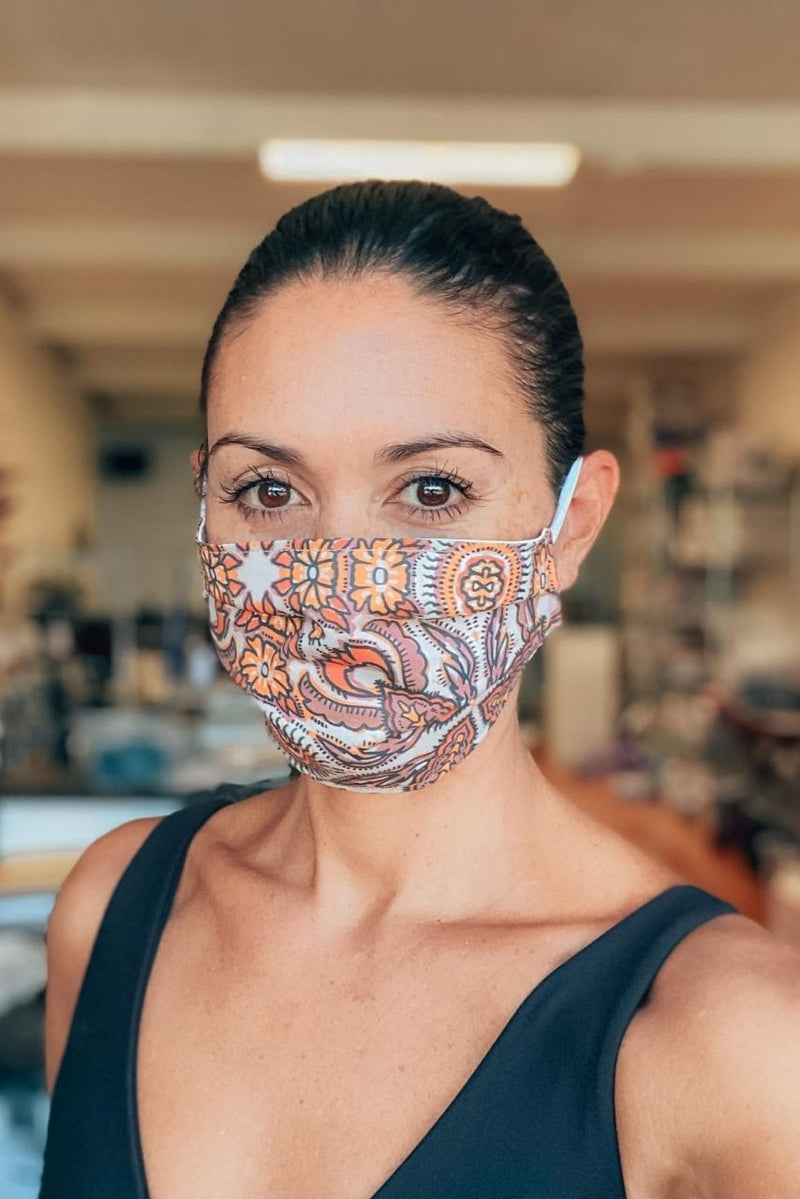 IN STOCK: Samilah Bright Fabric Mask ($1 goes to charity!)