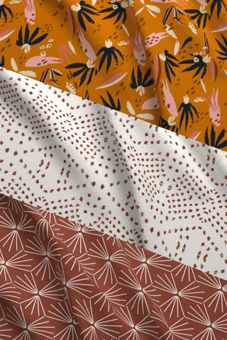Make Your Own: Burnt Boho Adobo Designer Fabric Collection