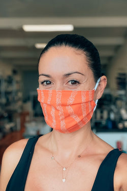 YWCA Lei Face Mask- Pleated