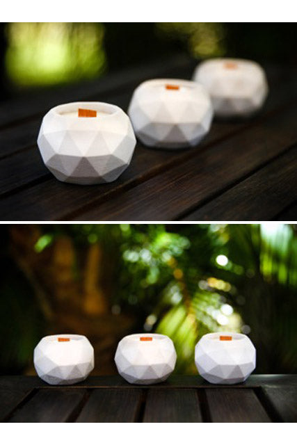 The Craft of Wandering Geodesic Candle