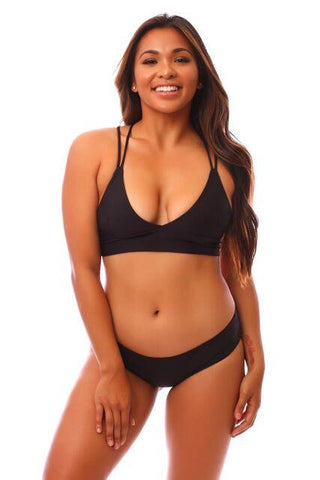 Black LUX Leilani Top
