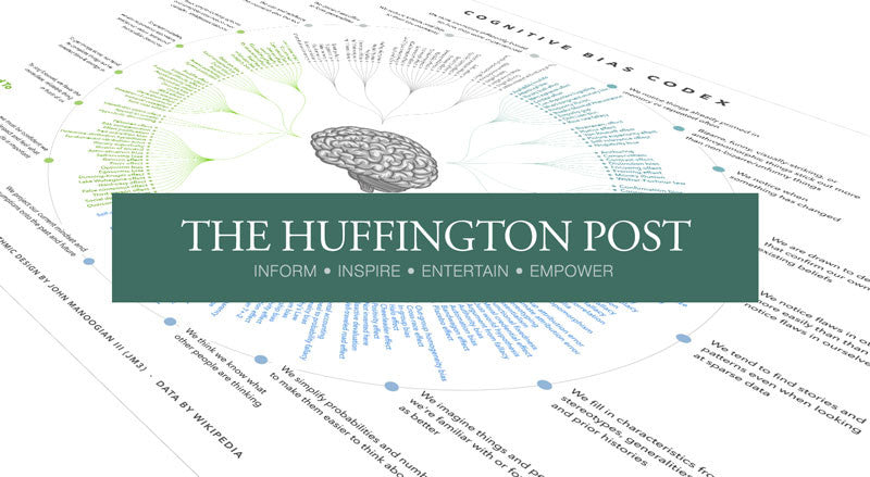 As seen in Huffington Post: Science — the Cognitive Bias Codex