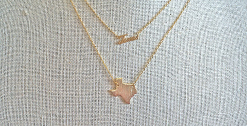 State of Texas Necklace