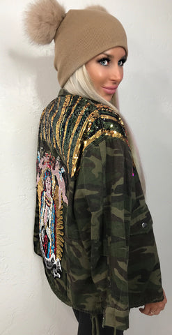 Army Angel Jacket