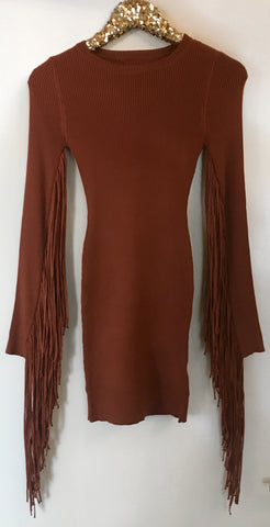 Fringe Mini Dress