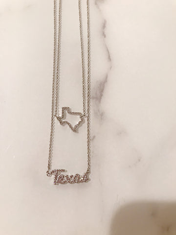 CZ Texas Necklaces
