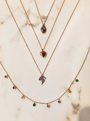 Dainty 14k Gold Necklaces