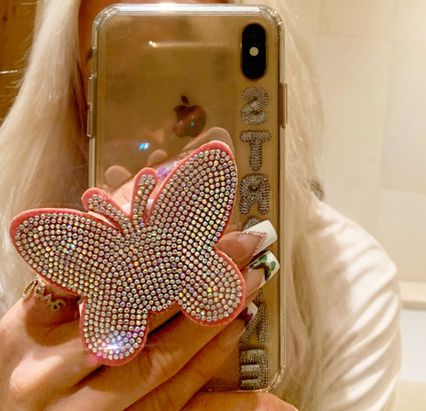 Butterfly Phone Grip