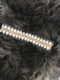 Black Beaded Headband/Choker