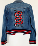 Embroidered Snake Jacket