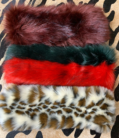 Faux Fur Head Warmer