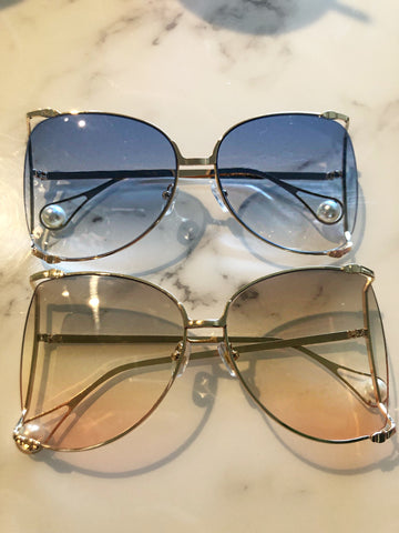 Oversized Pearl Sunnies