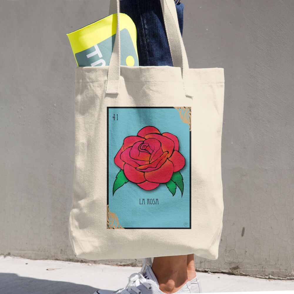 La Rosa Cotton Tote Bag