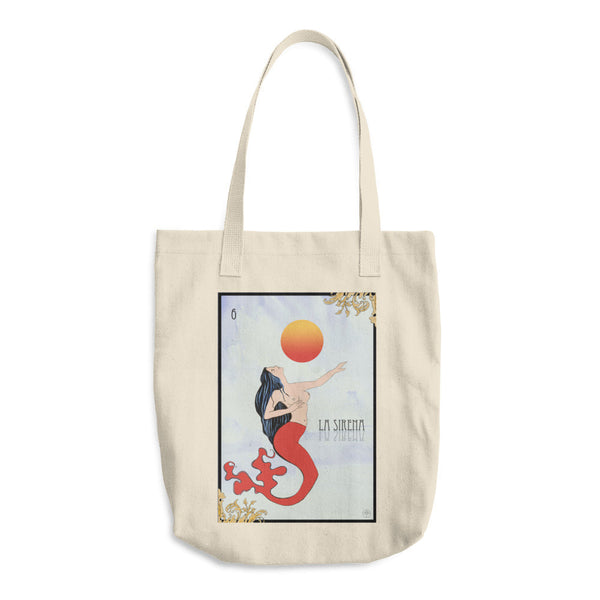 La Sirena Cotton Tote Bag