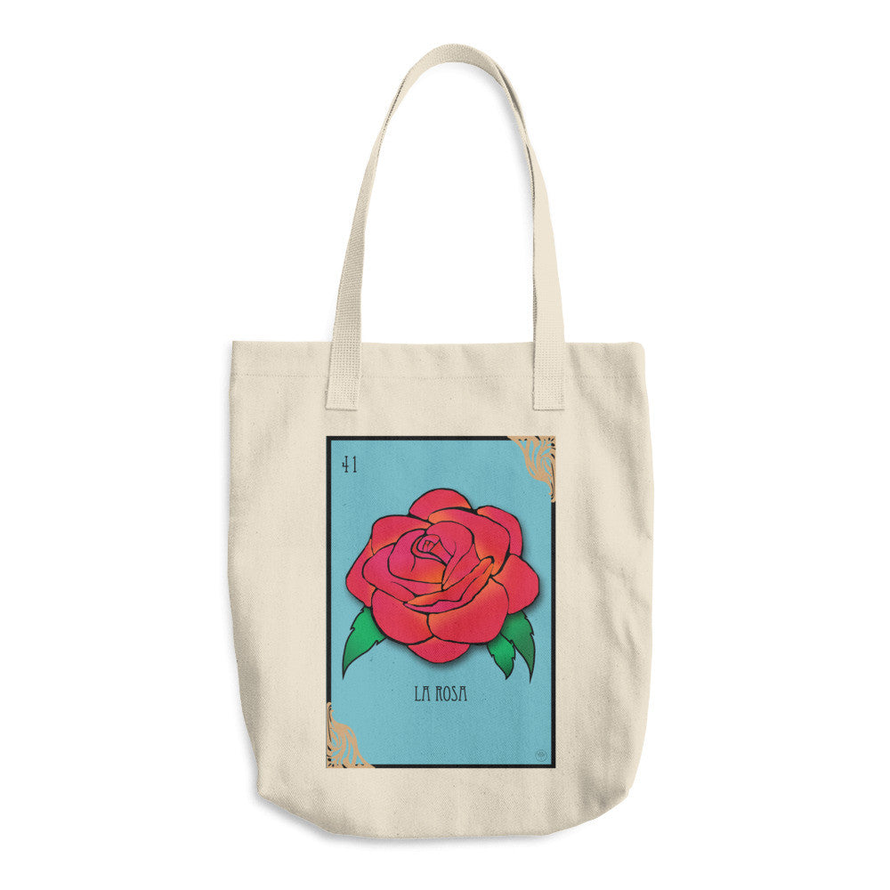La Rosa Cotton Tote Bag - Ceiba
