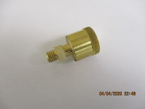 "1/4-28 Brass Grease cup 5/8"" cap"