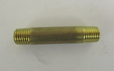 "1/16 NPT pipe nipple 1 1/2"" long"