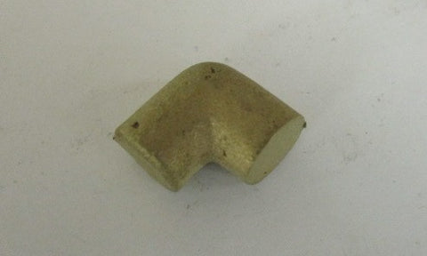 1/16 NPT 90° brass pipe elbow un-machined casting
